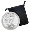 2008 Silver Eagle - Uncirculated w/ Display Pouch