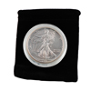 1993 Silver Eagle - Uncirculated w/ Display Pouch