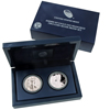 2012 Silver Eagle S Mint Two Coin Proof Set - OGP