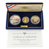 1993 WWII 50th Anniversary 3 pc Proof Collection
