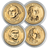 2007 Presidential Dollar - P Mint - 4pc Uncirculat