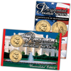 2007 Presidential Dollar P & D Lens - Jefferson