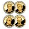 2010 Presidential Dollar - S Mint Proof - 4pc - Ca