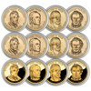 2009 Presidential Dollar - 12pc Set - P/D/S - Caps