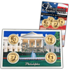 2012 Presidential Dollar - P Mint - 4pc Set - Lens