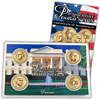 2007 Presidential Dollar - D Mint - 4pc Unc - Lens