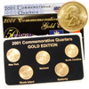 2001 Quarter Mania Uncirculated Set - Gold Edition
