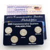 2005 Quarter Mania Uncirculated Set - Philadelphia