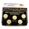2006 Quarter Mania Unc Set - Gold Edition - Denver