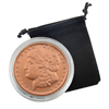 1 Oz Copper Medallion - Morgan Dollar - Proof Like