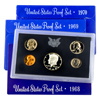 1st 3 San Francisco Mint  Proof Sets 1968 to 1970