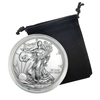 2017 Silver Eagle - Uncirculated w/ Display Pouch