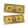 Gold Foil Notes - High Dollar Notes - $500 & $1000