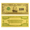Gold Foil Note - $10,000 Chase - Uncirculated