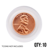 Coin Capsule - Cent  ( 19 mm ) - Qty 10