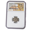 Alexander the Great Silver Drachm - NGC