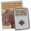 Roman Bronze - Constantine I - Hand of God - NGC