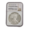 2012 Silver Eagle - Proof - NGC 70